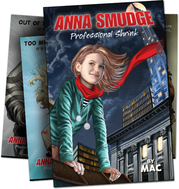 Anna Smudge: Professional Shrink front cover